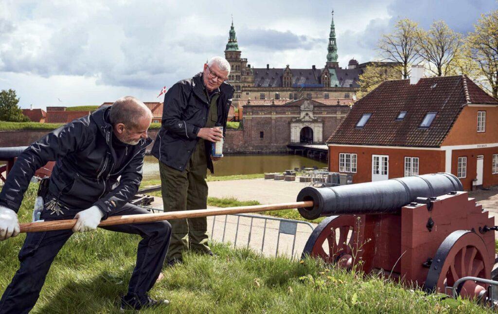 En ny bog om Kronborg Slot