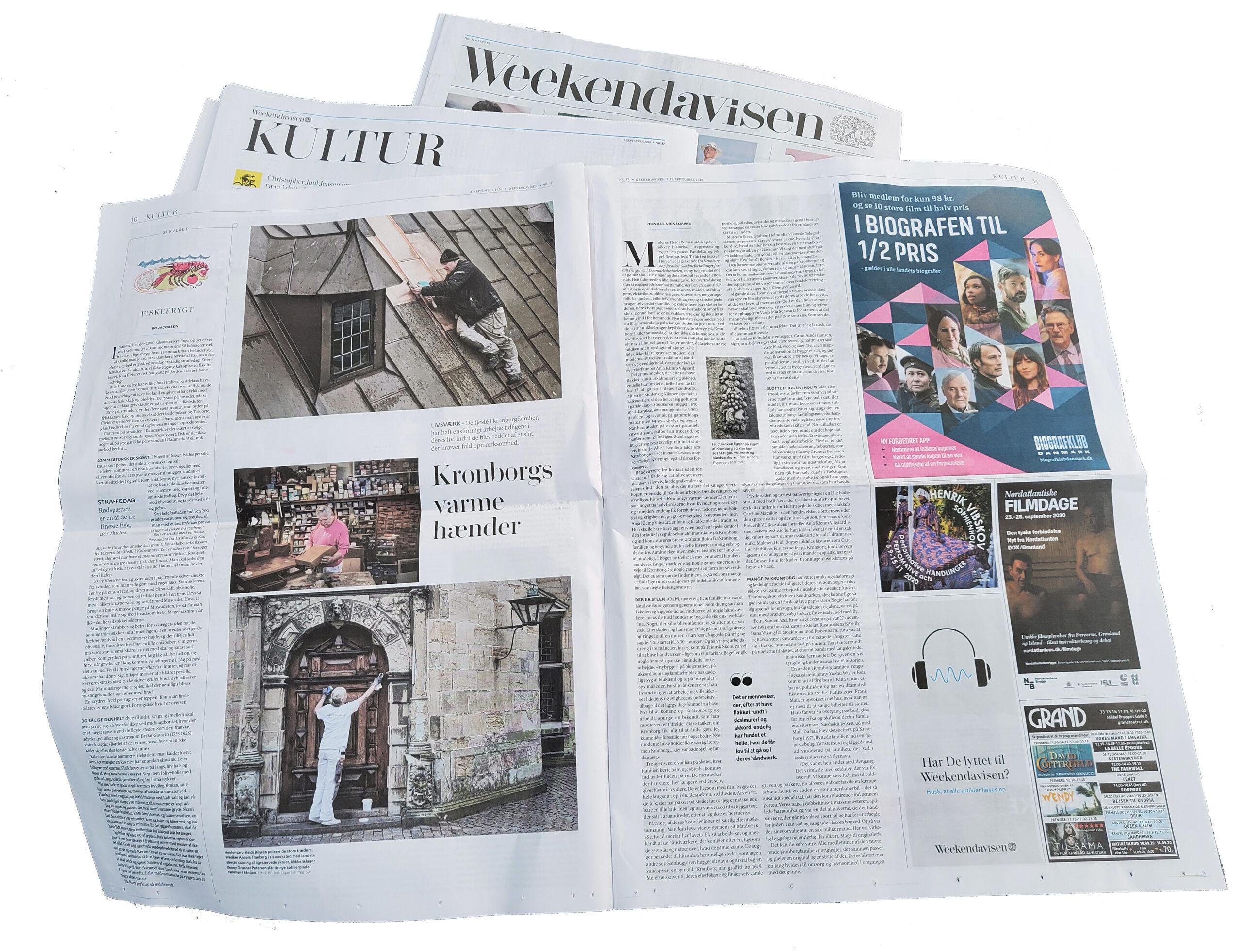Presseomtale Weekendavisen