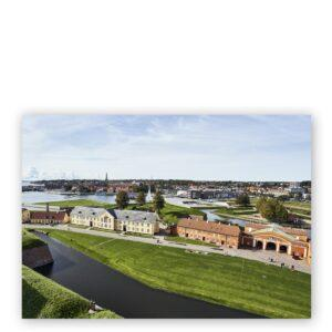 Postkort A5 - Bænke i slotskirken
